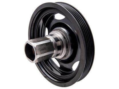 Piasta + koło pasowe wał korbowy silniki 1.0 1.2 1.4 Opel - 90529559 / 55571402 / 614362 / 615026