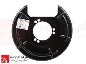 Osłona tarczy hamulcowej tył prawa Opel Insignia 13219214