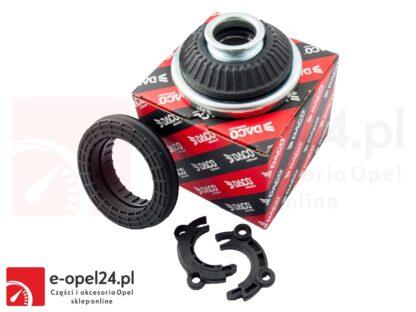 Zestaw górnego mocowania przedniego amortyzatora - poduszka + łożysko + łączniki (2szt)- Opel Astra H III / Zafira B - 344665 / 344543 / 344565