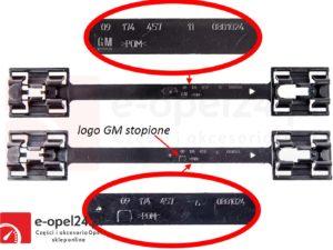 Zaczep / spinka / mocowanie osłony progu Opel Astra G / Corsa C / Corsa D / Vectra B - 9174457 / 164987