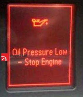 Niskie ciśnienie oleju - wyłącz silnik Insignia 2.0 CDTI