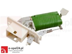 Opornik wentylatora nawiewu 4 stopniowy - Opel Astra F - 1845791 / 90383817