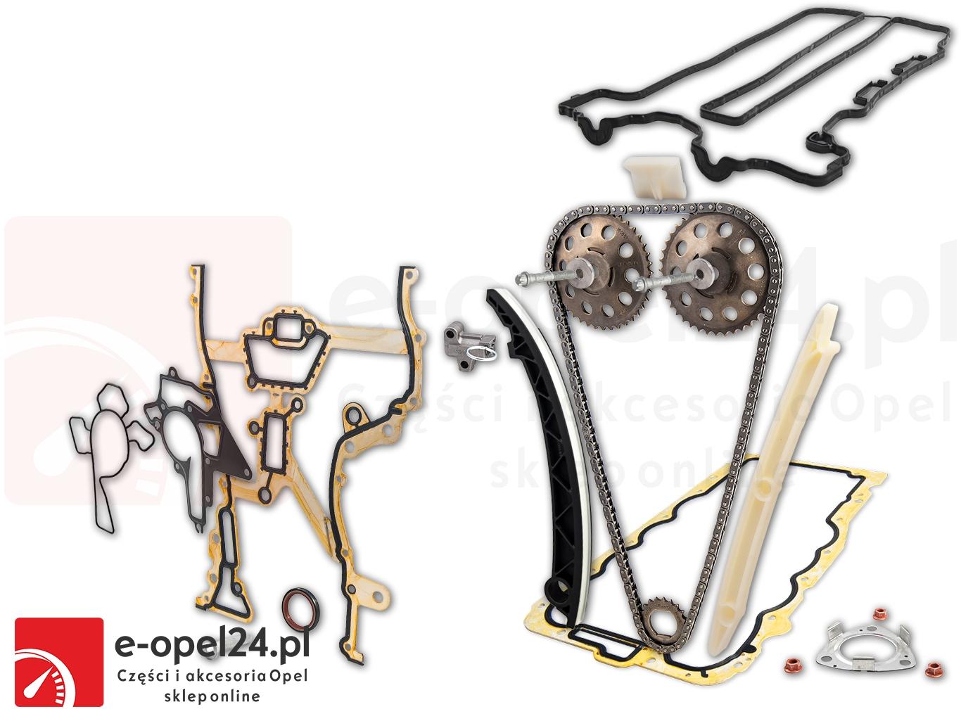 Zestaw rozrządu Opel Astra G H Combo Corsa B C D Meriva A Tigra B Agila A - 1.0 1.2 1.4 - 6606022 / 93191271 / 6606023 / 93191272
