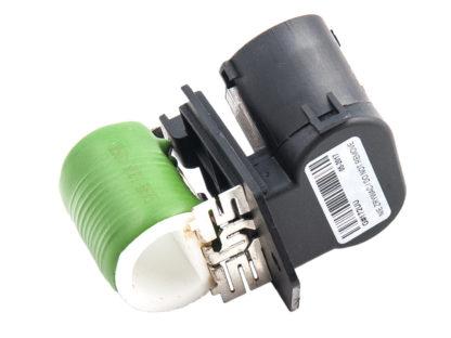 Rezystor wiatraka chłodnicy Opel Meriva A - do silników benzynowych z klimatyzacją - 1341721 / 93175501
