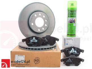 Zestaw tarcze i klocki hamulcowe przedniej osi Opel Vectra C / Signum 569003 / 1605139 / 569909