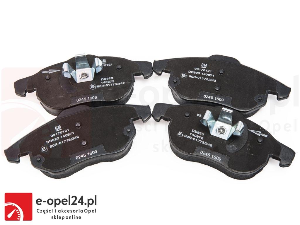 Oryginalne klocki hamulcowe Opel Signum / Vectra C 1605088 / 93176121 / 1605139 / 93166798 / 1605282 / 93183728 / 1605972 / 93172174