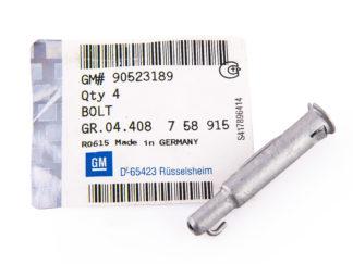 Sworzeń zabezpieczający cięgno mechanizmu zmiany biegów 758915 / 90523189