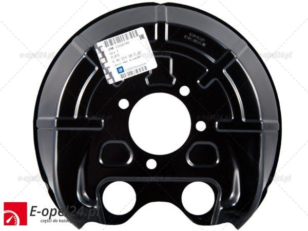 Osłona tarczy hamulcowej tylnej lewej - Opel Signum / Vectra C 546219 / 1316848 / 546216 / 9156796