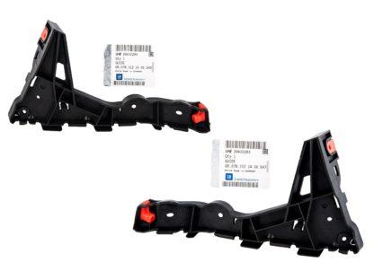 Komplet mocowań zderzaka przedniego Opel Astra H III - 1406547 / 24460283 / 1406548 / 24460284