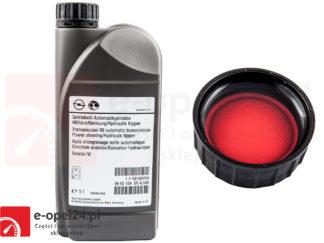 Oryginalny Olej płyn do wspomagania układu kierowniczego czerwony Opel Astra J / Insignia / Zafira C - 1940184 / 93165414