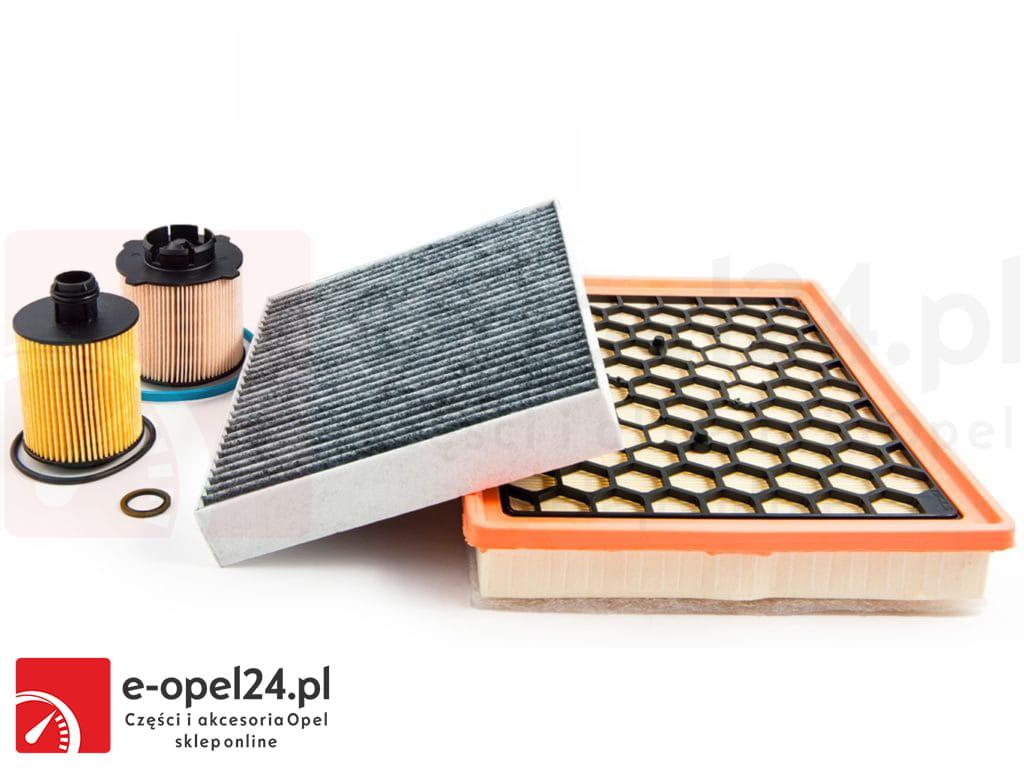 Zestaw filtrów Opel Astra J / Cascada / Zafira C 2.0 CDTI - filtr oleju, paliwa, powietrza, kabinowy - 650061 / 5818085 / 1808246 / 834126