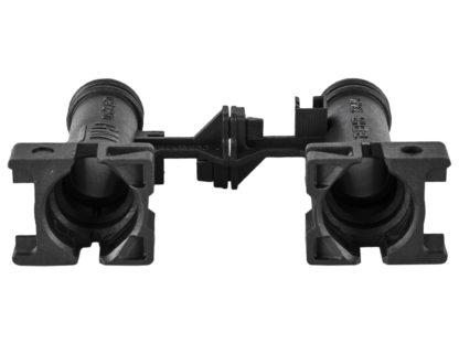 Adapter nagrzewnicy BEHR - Opel Astra G / Zafira A - 1618188 / 9119164