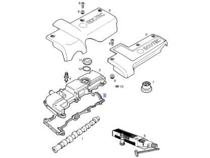 Uszczelka pokrywy zaworów - Opel Signum / Vectra B / Vectra C / Zafira A - 2.0 2.2 Di DTI