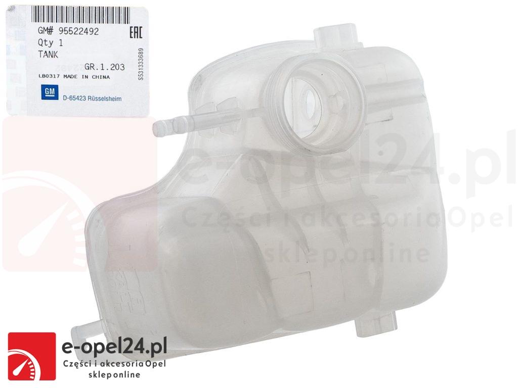 Oryginalny zbiornik wyrównawczy płynu chłodniczego Opel Vectra C / Signum 1304236 / 9202100