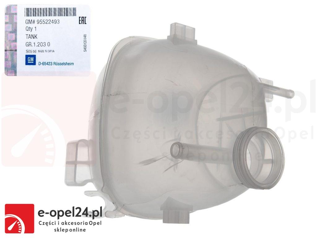 Oryginalny zbiornik wyrównawczy płynu chłodniczego Opel Vectra C / Signum - 1.6 / 1.8 / 2.0 / 2.2 / 3.2 / 1.9 cdti - 1304237 / 9202200