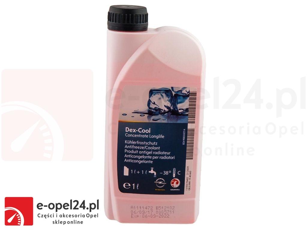 Oryginalny koncentrat płynu chłodniczego DexCool Opel 1940663 / 93170402