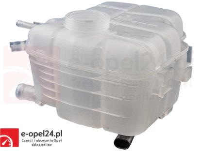 Zbiornik GM wyrównawczy płynu chłodniczego z korkiem oraz czujnikiem Opel Astra J IV / Cascada 1304019 / 13370133