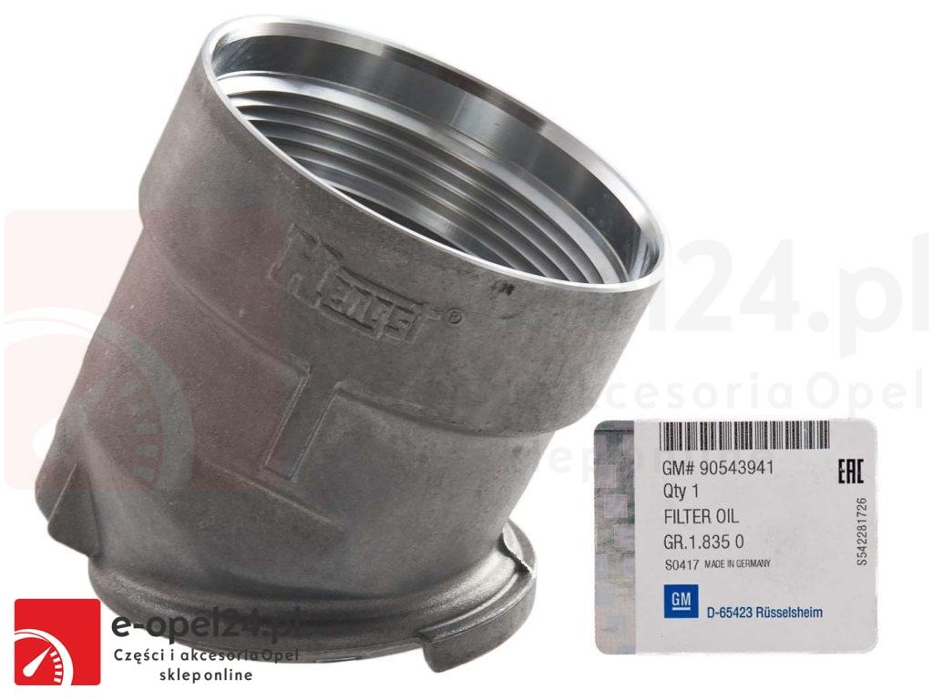 Oryginalna obudowa filtra oleju - Opel Vectra B - 5650322 / 90543941