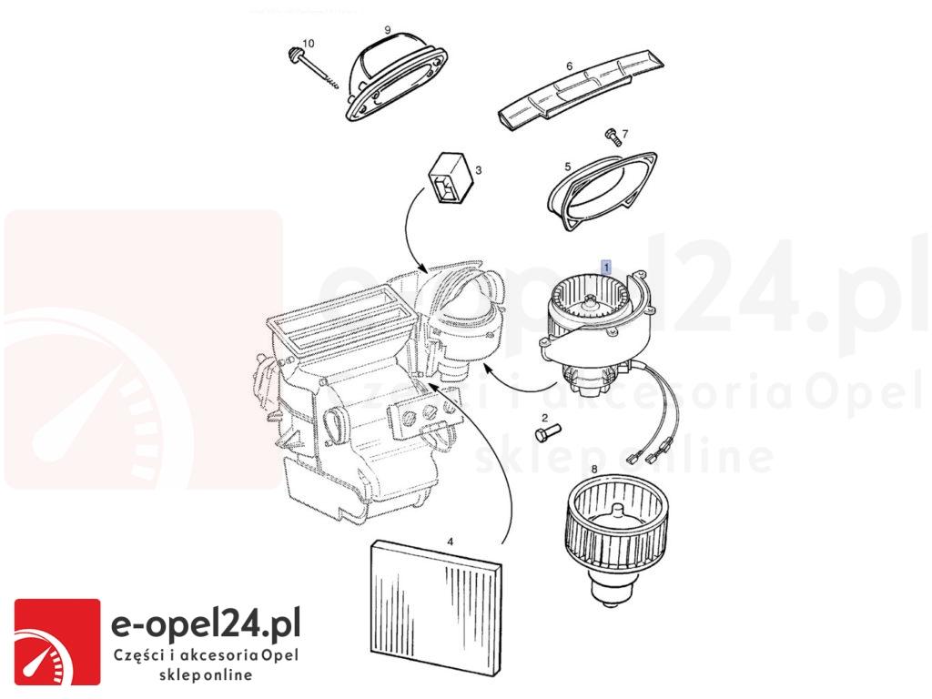Wentylacja - Opel Astra G H - 1845002 / 9192934