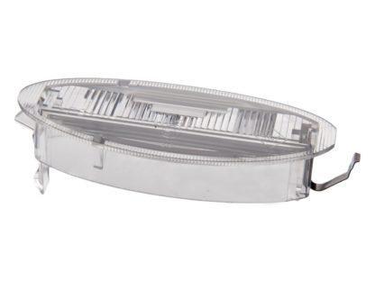 """Obudowa lampki oświetlenia rejestracji """"Klosz"""" - Opel Astra J / Vectra B - 1224110 / 90444331"""