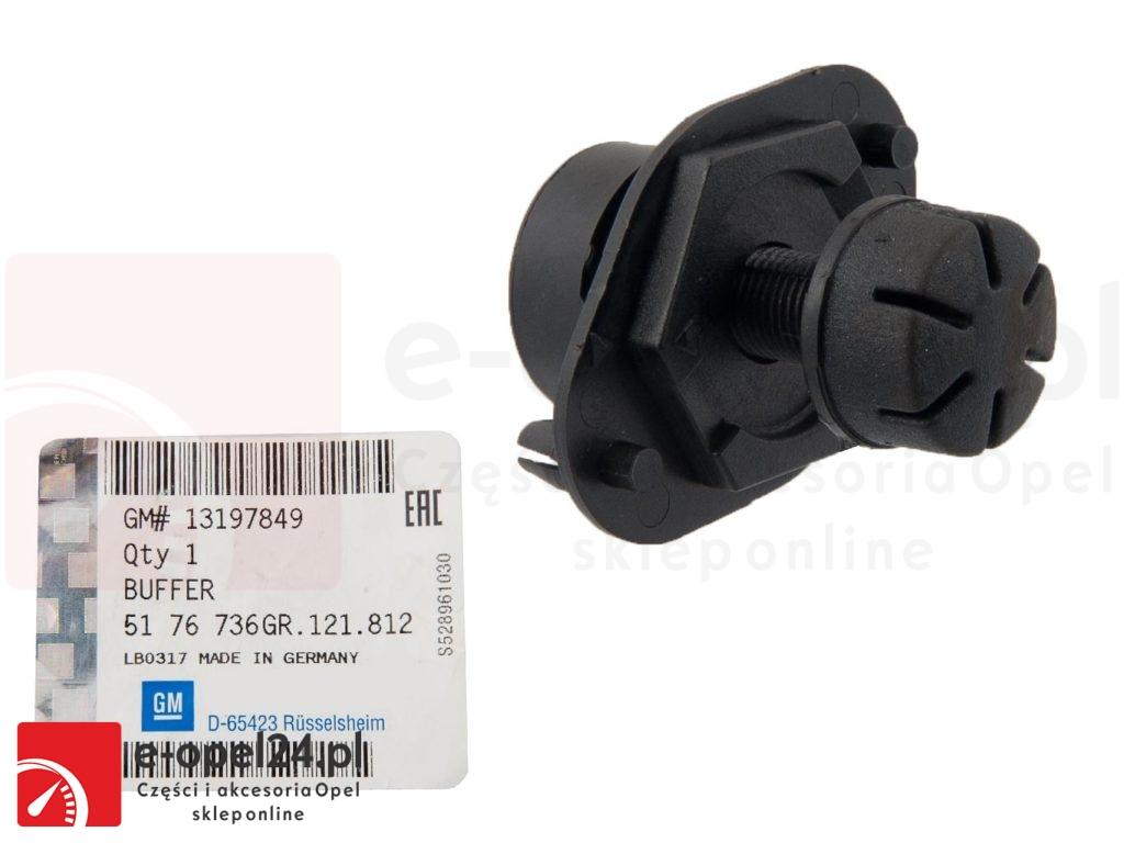 Ogranicznik klapy bagażnika - Opel Vectra C - 5176736 / 13197849