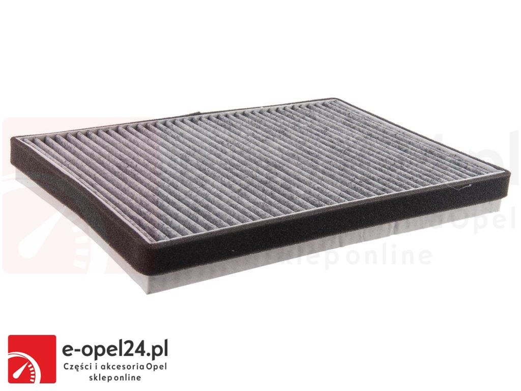 Filtr kabinowy węglowy (nawiewu) - Opel Astra G II (DELPHI) / Astra H III / Zafira A (DELPHI) - 6808607 / 13175554