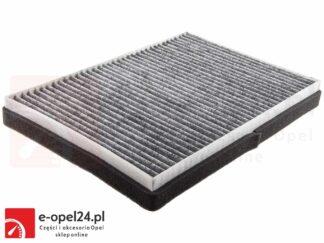 Filtr nawiewu z węglem aktywnym - Opel Astra G II (DELPHI) / Astra H III / Zafira A (DELPHI) - 6808607 / 13175554 / 1718046 / 9121627