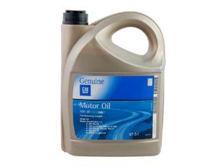 Oryginalny Olej silnikowy syntetyk Opel GM dexos II 5W30 5L - 1942003 / 93165557