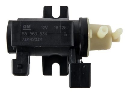 Oryginalny elektrozawór turbosprężarki / zawór podciśnienia Opel Astra H J / Cascada / Corsa D / Insignia A / Meriva A B / Zafira B C - 5851073 / 55563534