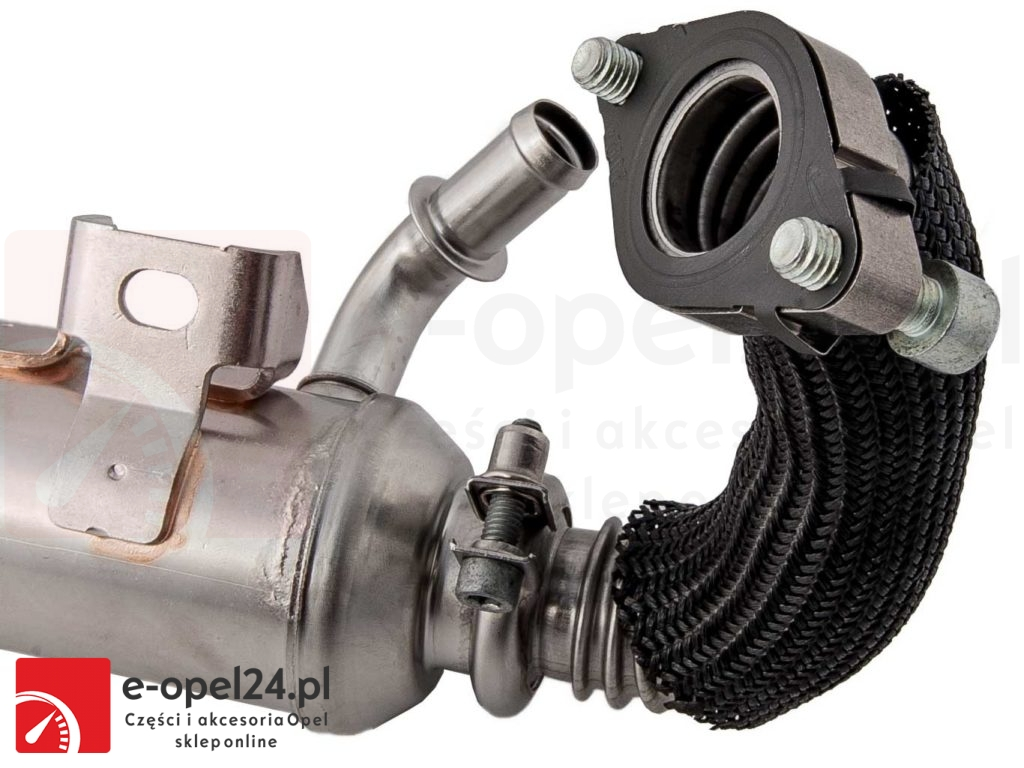 Chłodnica spalin Opel Vectra C / Signum 1.9 cdti 150km Z19DTH - 851747, 55202430, 55186466