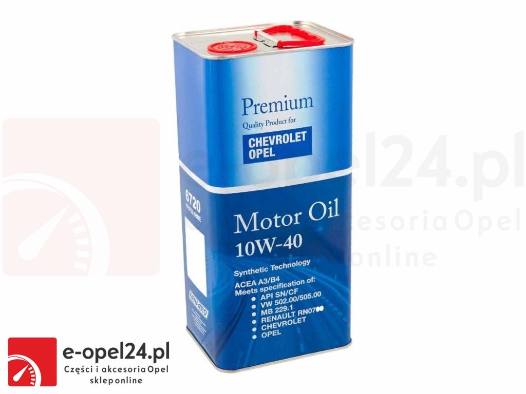 Olej silnikowy półsyntetyczny 10W40 - 5L - 1942046 / 93165216