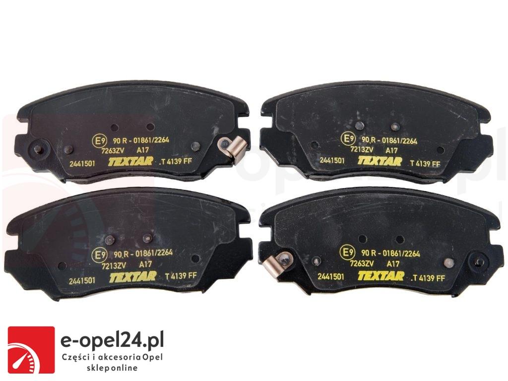 """Opel Insignia klocki hamulcowe przednie układ hamulcowy 16"""" cali 1605185 / 95514525"""