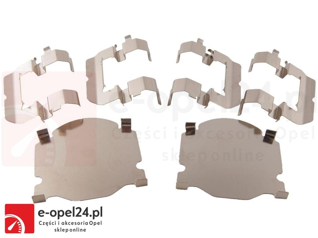 """Zestaw montażowy klocków przód blaszki i prowadnice Opel Insignia A 16"""" 296mm"""