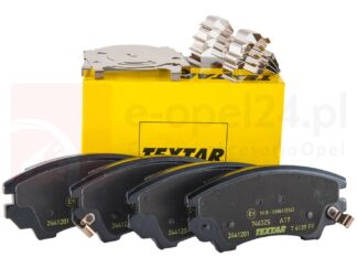 "Klocki hamulcowe przód Textar - Opel Insignia 17"" 321mm - 1605434 / 13237751"