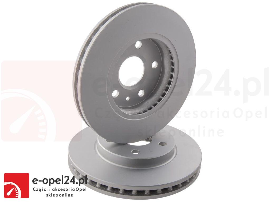 Komplet tarcz hamulcowych na przód Opel Isnignia A śrdenica 296mm 16 cali 569063 / 13501307