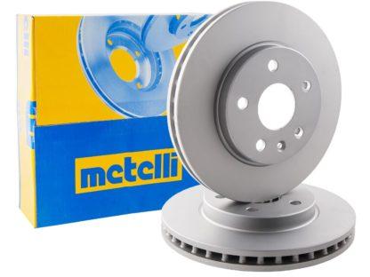 Komplet tarcz hamulcowych osi przedniej firmy Metelli o średnicy 296mm do Opel Insignia A 569421 / 13502213