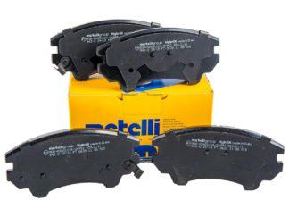 "Klocki hamulcowe przód Metelli - Opel Astra J / Cascada / Insignia / Zafira C - 17"" 321mm - 1605434 / 13237751"