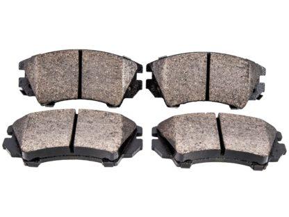 Klocki osi przedniej Opel Zafira C - firma Metelli z technologią Hybrix