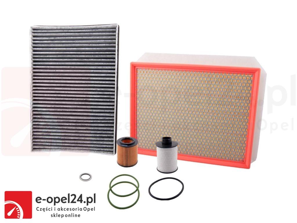 Zestaw filtrów Opel Astra H III 1.9 CDTi