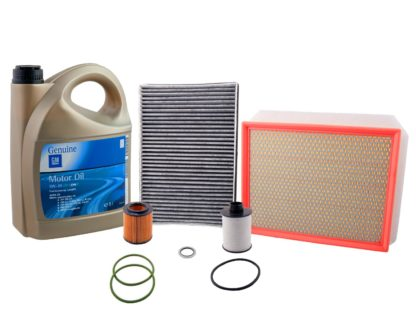 Zestaw filtrów + Olej GM 5W30 Opel Astra H III 1.9 CDTi