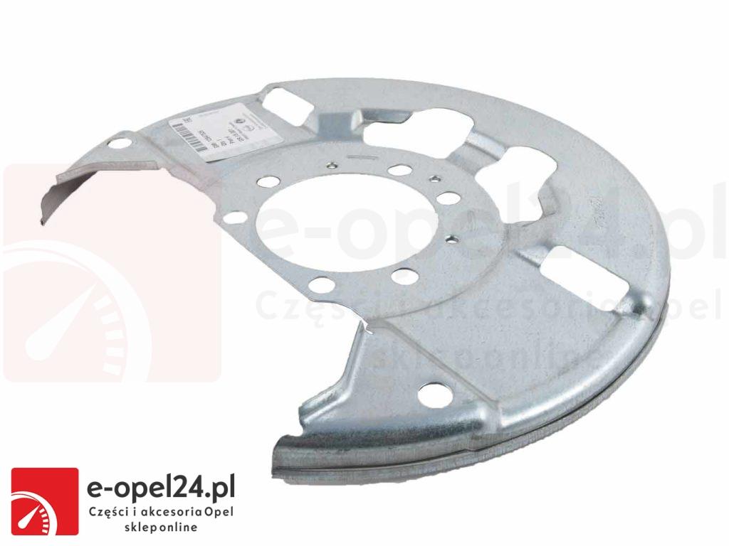 Oryginalna osłona tarczy przedniej wentylowanej GM Opel Vectra C / Signum - 543006 / 12847526