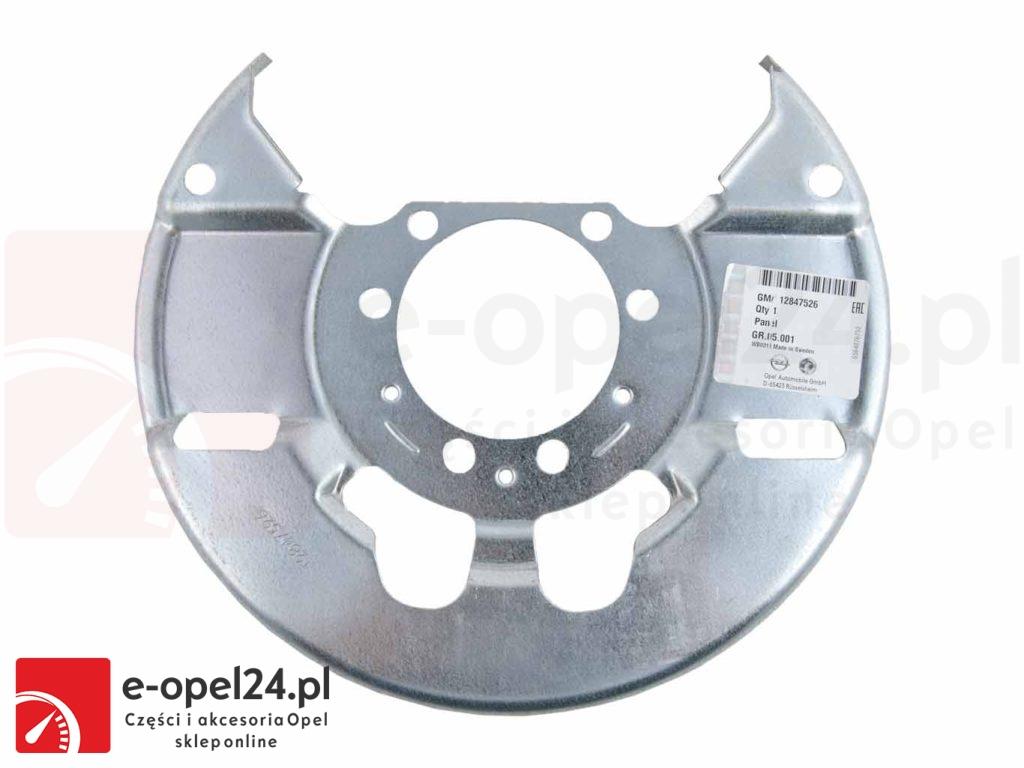 Osłona tarczy przedniej Opel Vectra C / Signum - 543006 / 12847526
