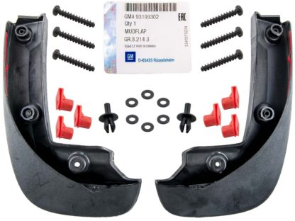 Oryginalne chlapacze tył Opel Corsa D -1718531 / 93199302