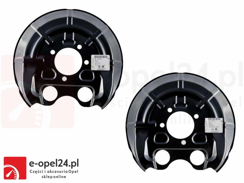 Oryginalne Osłony tarcz hamulcowych wentylowanych GM OM Opel Vectra C / Signum