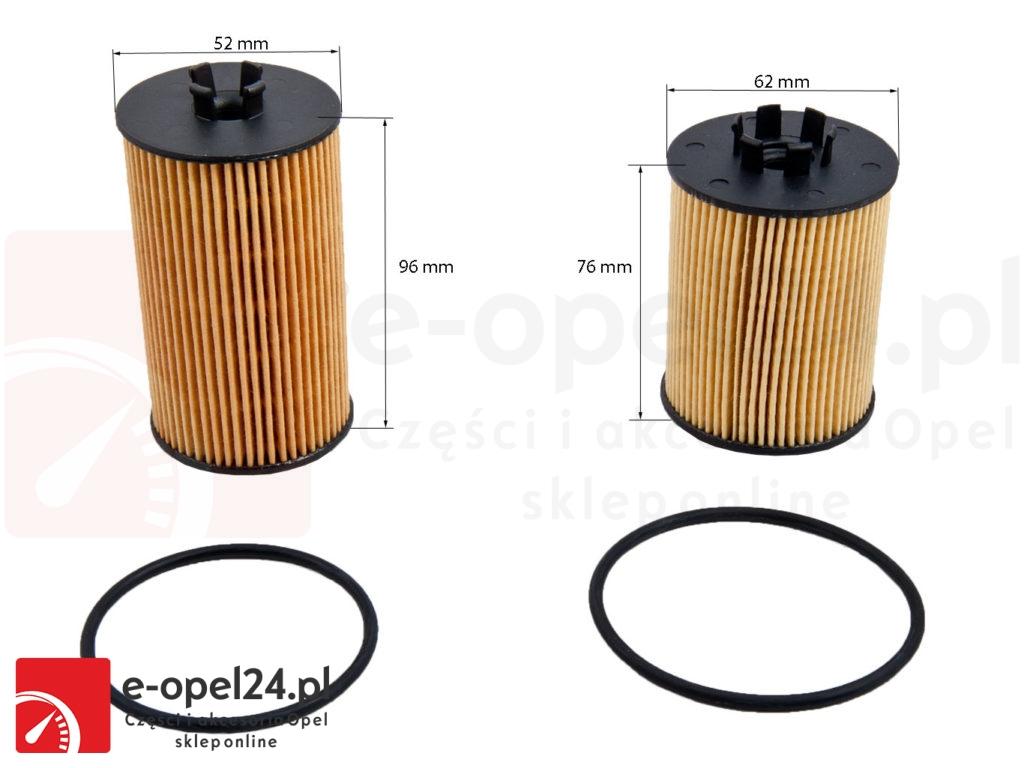 Filtr oleju do Opla Corsy C - 1.0 / 1.2 / 1.4 / 2001 - 2011 / 06 50 307E - 06 50 172E