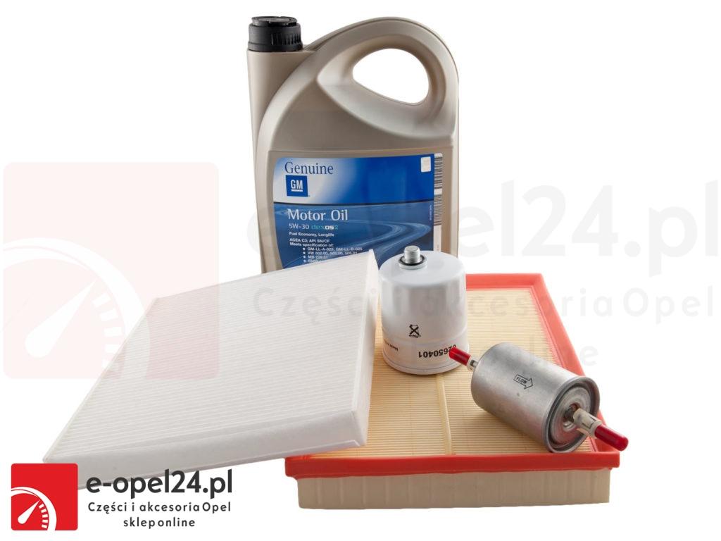 Zestaw filtrów oleju 5W30 - OPEL ZAFIRA A 1.6 / 1.8 / 2.0