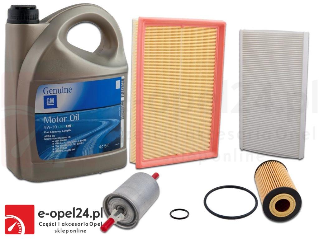 Zestaw filtrów oleju 5W30 - Opel Corsa C 1.0 / 1.2 / 1.4
