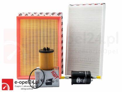 Zestaw filtrów - Opel Corsa C 1.0 / 1.2 / 1.4