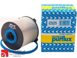 Filtr paliwa - purflux - Opel Astra J / Cascada / Insignia / Meriva B / Zafira C - 1.3 / 1.6 / 1.7 / 2.0 CDTI- 5818085 - 13263262