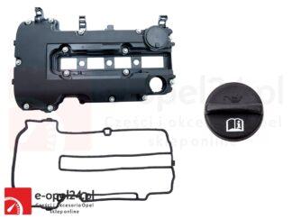 Oryginalna pokrywa zaworów wraz z korkiem oleju GM - Opel Astra J / Corsa D E / Insignia / Meriva B / Mokka / Zafira C 1.2 1.4 oraz 1.4 turbo - 607697 / 25198874